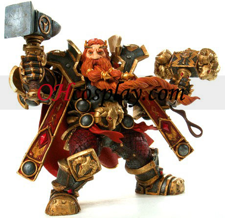 World of Warcraft DC illimité Série 6 Action Figure Magni bronze [nains roi]