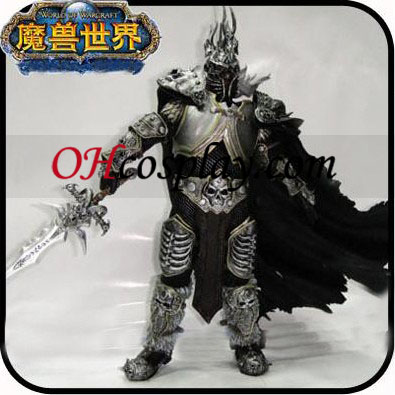 The Lich King Arthas Menethil Deluxe Collector Figures + Frostmourne