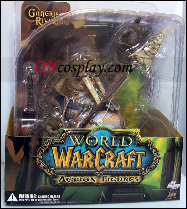 העולם של warcraft 1 Premium סדרת פעולה איור tuskarr tavru akua