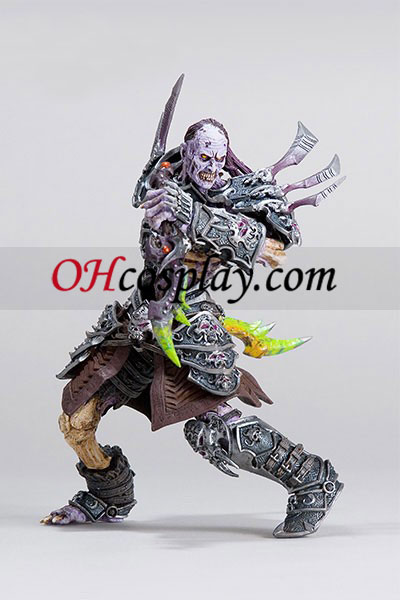 World of Warcraft DC neomejena serija 3 akcijska figura nemrtvi hordi Rogue [Skeeve Sorrowblade]