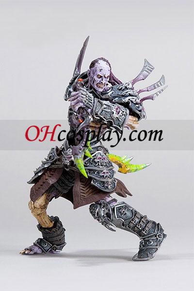 World of Warcraft DC Ubegrænset Series 3 Action figurer Undead Rogue [Skeeve Sorrowblade]