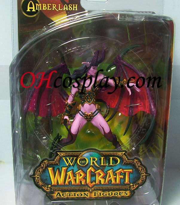 World of Warcraft DC Ubegrænset Series 4 Action Figure Succubus Demon Amberlash