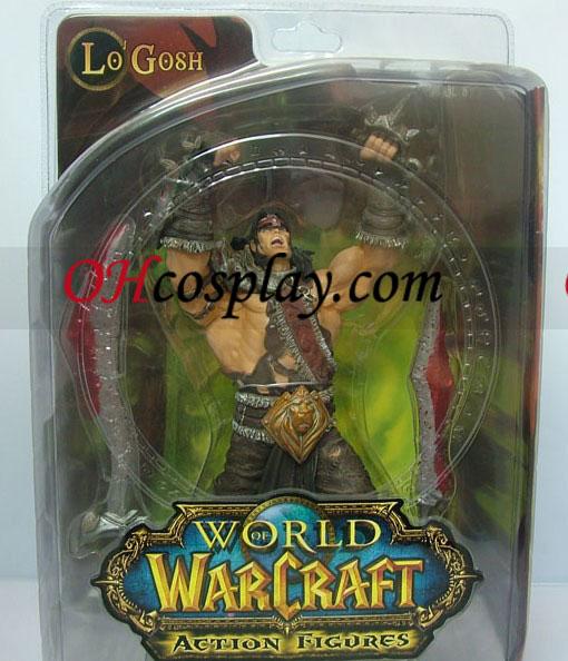 World of Warcraft DC Ubegrænset Series 5 Action Figure Lo\'Gosh [Varian Wrynn]