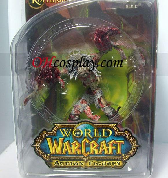 העולם של warcraft 5 סדרת פעולה בלתי מוגבל DC איור בנגע שד [rottingham]