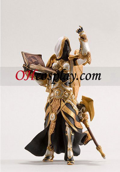 World of Warcraft DC Unlimited Series 3 Action Figure Mensch Priesterin [Schwester Benedron]