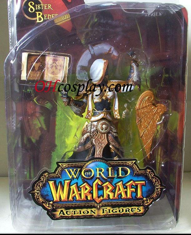 World of Warcraft DC Ubegrænset Series 3 Action Figure Menneskelige Priestess [Sister Benedron]