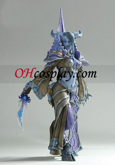 World installation for Warcraft DC Unlimited Series 3 Action Figure Draenei Mage[Tamuura]