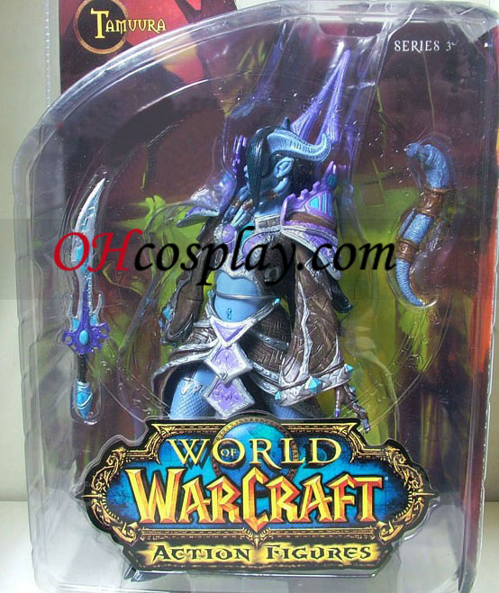 World of Warcraft DC Ubegrænset Series 3 Action Figure Draenei Mage [Tamuura]