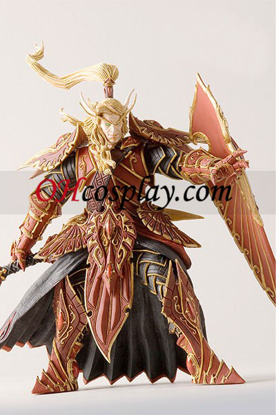 World of Warcraft DC Ubegrænset Series 3 Action figurer Blood Elf Paladinl [Quin Halan Sunfire]