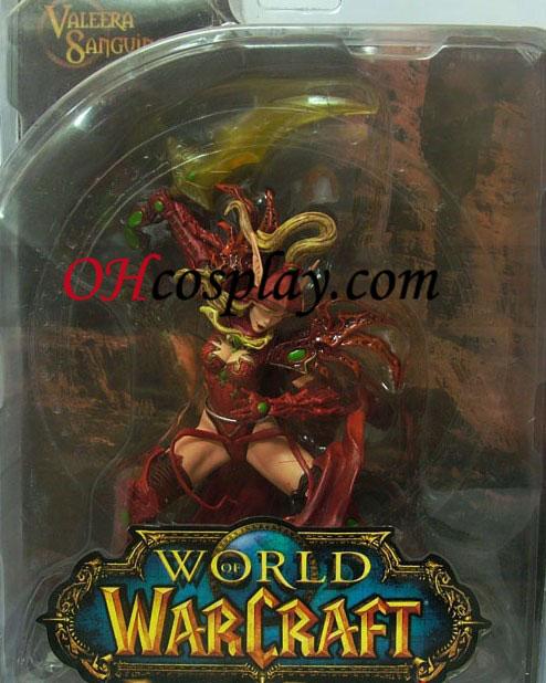 World of Warcraft DC Ubegrænset Series 1 Action figurer Blood Elf Rogue [Valeera Sanguinar]