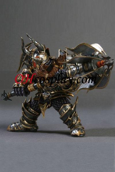 World of Warcraft DC Ubegrænset Series 1 Action Figure Dwarf Warrior [Thargas Anvilmar]