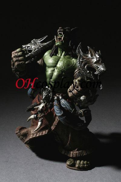 World of Warcraft DC Ubegrænset Series 1 Action Figure Orc Shaman [Rehgar Earthfury]