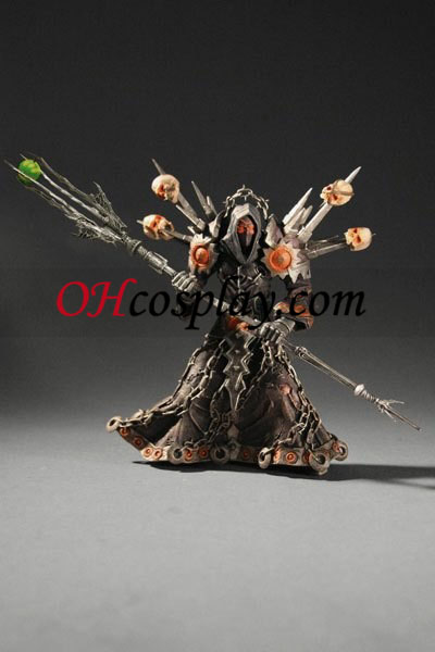World of Warcraft DC Illimité Series 1 Action Figure Undead Warlock [Meryl Felstorm]