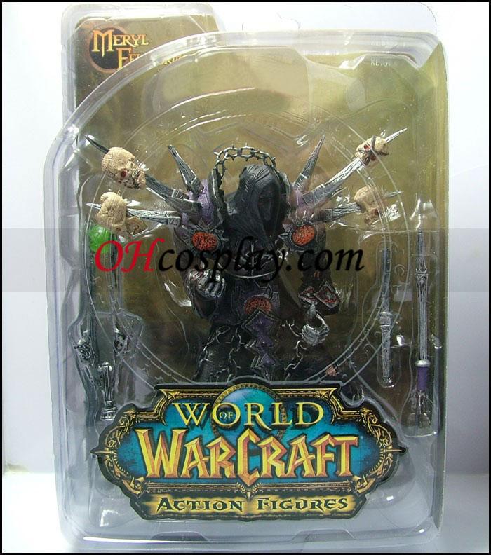 World of Warcraft DC Ubegrænset Series 1 Action figurer Undead Warlock [Meryl Felstorm]