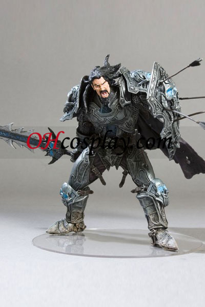 World installation for Warcraft DC Unlimited Series 2 Action Figure Human Warrior [Archilon Shadowheart]