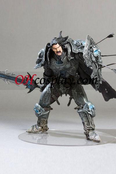 World of Warcraft DC Ubegrænset Series 2 Action Figure Menneskelige Warrior [Archilon Shadowheart]