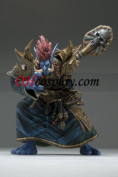 World installation for Warcraft DC Unlimited Series 2 Action Figure Troll Priest [Zabra Hexx]