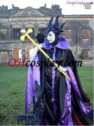 Disneys Evil Queen Maleficent Halloween Cosplay Costume