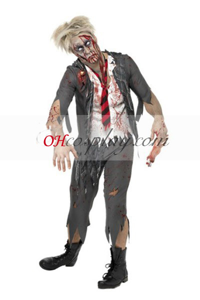 Halloween Pojke Uniform Cosplay Kostym