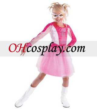 Spider-Girl Pink Niño / Child Traje Classic