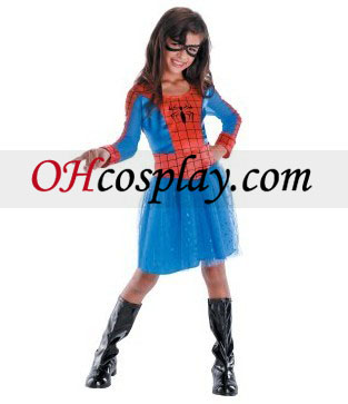 Spider-Classic Girl Niño / Child Traje