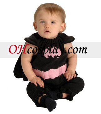 Batgirl Bib nyfødte kostyme