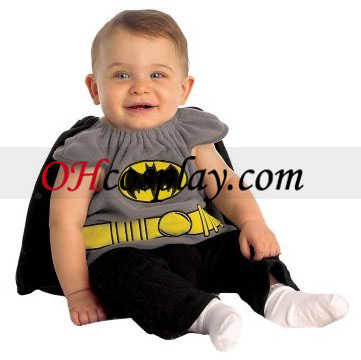Batman Costume Bib neonato