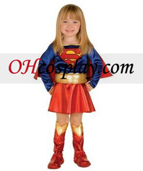 Supergirl Toddler Kostume