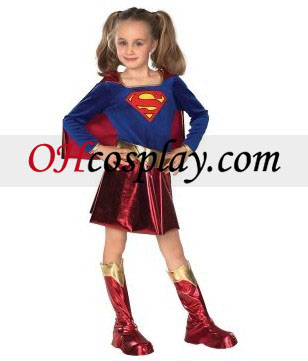 DC Comics Supergirl barn kostyme