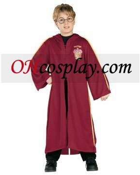 Harry Potter Quidditch Robe Barn Kostym