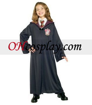 Harry Potter Gryffindor Robe Barn Kostym