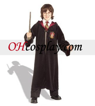 Harry Potter Premium Gryffindor Robe Barn Kostym