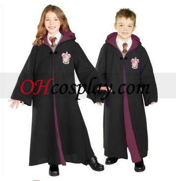 Harry Potter Gryffindor Robe Deluxe Barn Kostym
