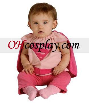 Supergirl Bib Newborn Costume