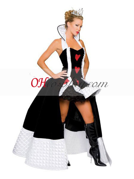 Deluxe Enchanting Queen of Hearts Adult Costume directly from Alice directly into Wonderland