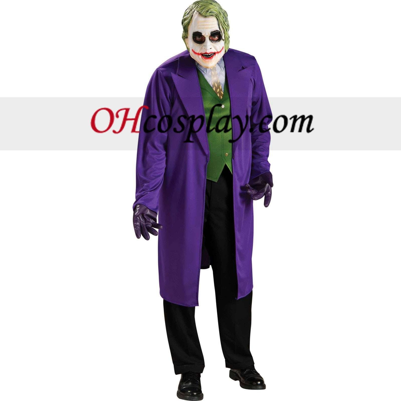 Batman Dark Knight The Joker Adult kostym