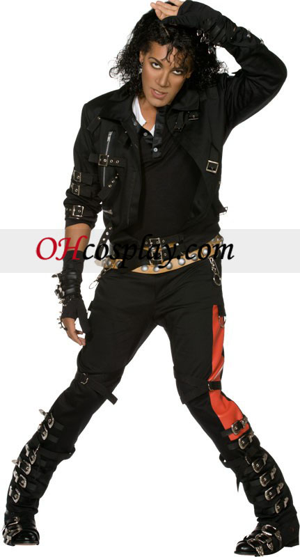 Michael Jackson Bad Adult Kostume