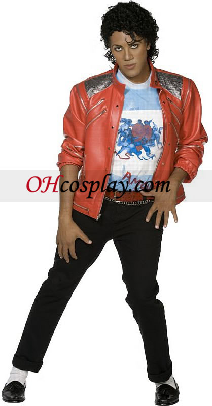 Michael Jackson - Beat It Jacket Adult kostym
