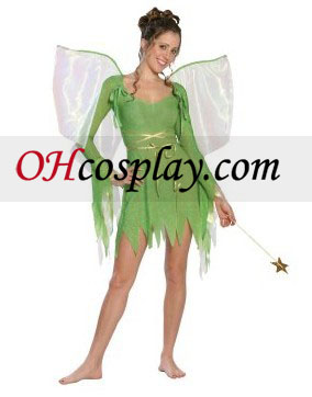 Tinkerbell делукс младеж костюм