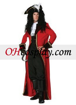 De ultieme Captain Hook Adult Costume