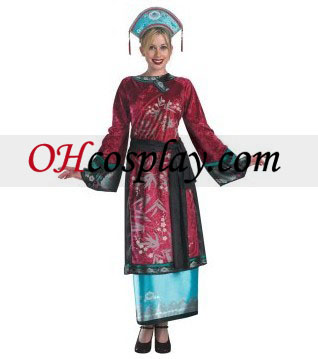 Pirates of the Caribbean 3 Elizabeth Geisha Deluxe Adult Costumes
