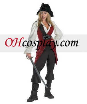 Pirates des Caraïbes 3 Elizabeth Pirate Deluxe Adult (2007) Costume