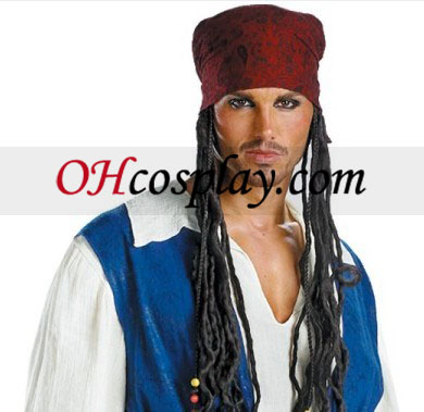 Pirates of the Caribbean 3 Captain Jack Sparrow Quality Adult Kostume