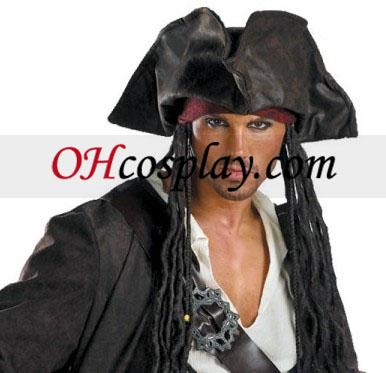 Pirates of the Caribbean 3 Captain Jack Sparrow Prestige Adult Kostume