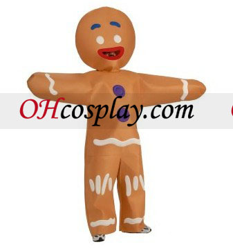 Shrek - Gingerbread Man Adult Kostume