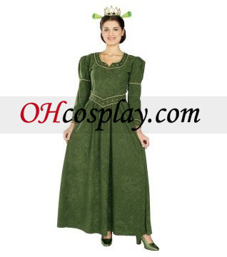 Shrek Princess Fiona Deluxe Adult Costumes