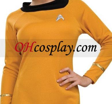 מסע בין כוכבים דה לוקס מבוגר לבוש בגדי זהב קלאסי