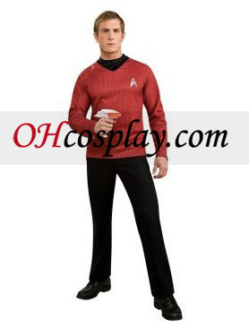 Star Trek Film (2009) Red Shirt Costume adulte
