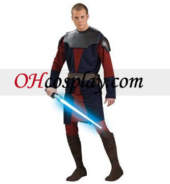 Star Wars Clone Wars Anakin Skywalker Adulto Fantasia Deluxe