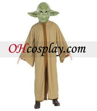 yoda מלחמת הכוכבים דה-לוקס תלבושות למבוגרים